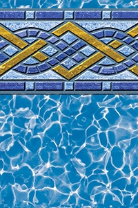 Brighton Tile beaded liner