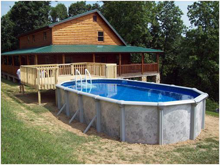 How To Build An Above Ground Pool With Lps Liverpool Pool And Spa
